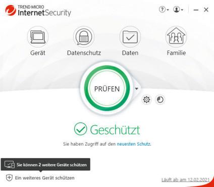 Trend Micro Internet Security©COMPUTER BILD