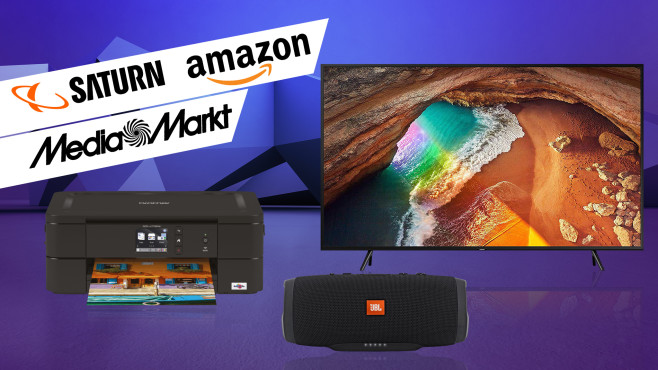 Amazon, Media Markt, Saturn: Die Top-Deals des Tages!©Amazon, Media Markt, Saturn, Samsung, Brother, JBL, iStock.com/terng99