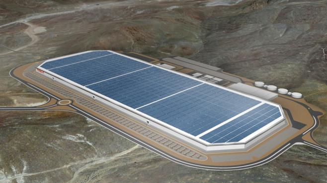 Tesla Werk Brandenburg©Tesla