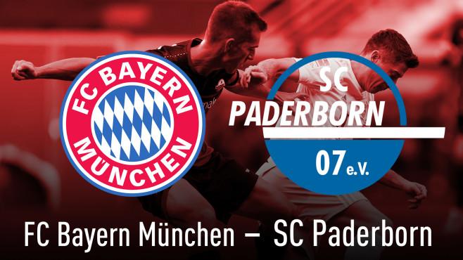 Bundesliga: Bayern - Paderborn©TF-Images/gettyimages, FC Bayern München, SC Paderborn 07