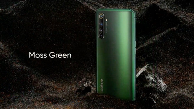 X50 5G in Moss Green © REALME