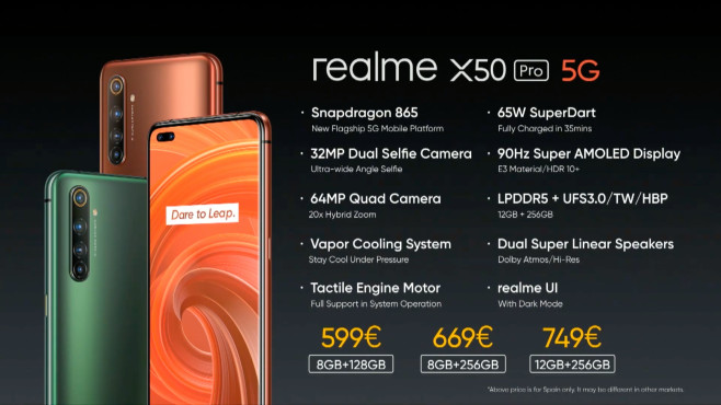 X50 Pro 5G: Preise©Realme
