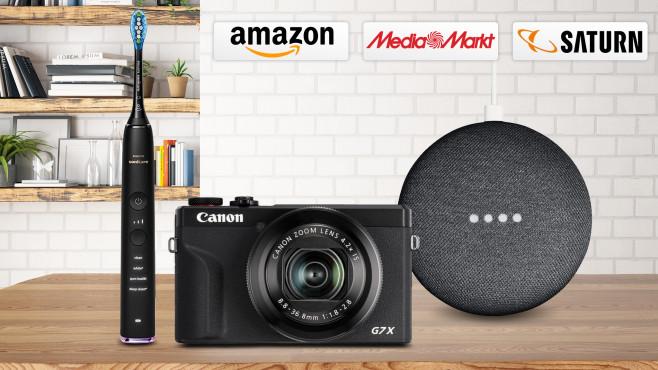 Amazon, Media Markt, Saturn: Die Top-Deals des Tages!©iStock.com/asbe, Media Markt, Saturn, Amazon, Philips, Canon, Google