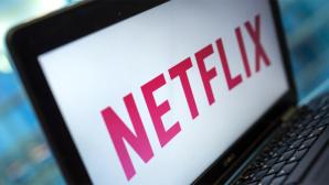 Netflix-Logo auf Laptop©dpa-Bildfunk
