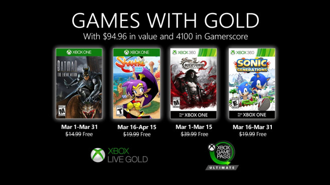 Games with Gold©Microsoft