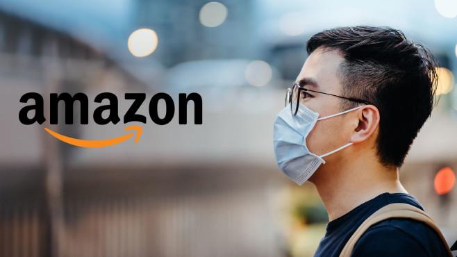 Schutzmasken bei Amazon©d3sign/gettyimages, Amazon