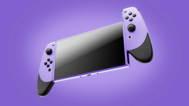 Nintendo Switch XL©Martin Hajek, COMPUTER BILD
