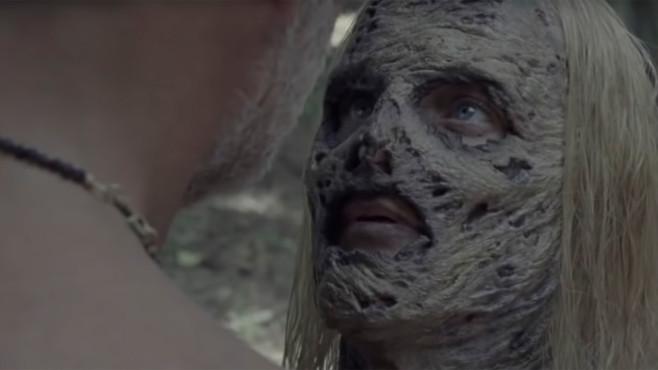Negan und Alpha kurz vor dem Kuss©The Walking Dead, YouTube Screenshot