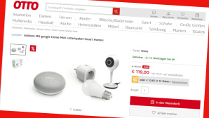 Smarte Haustechnik günstiger bei Otto.de©Screenshot www.otto.de