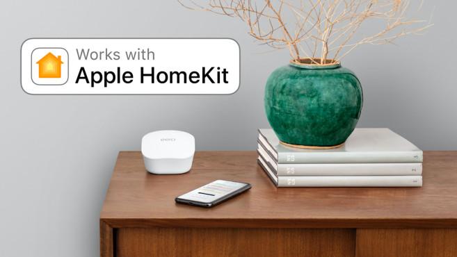 HomeKit-Supportfür Eero-Router©Eero, Amazon, Apple, COMPUTERBILD