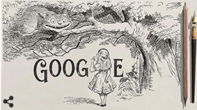 Google Doodle: Sir John Tenniel©Google