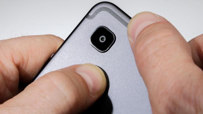 Detailaufnahme der Kamera des Galaxy Tab S6 Lite©COMPUTER BILD