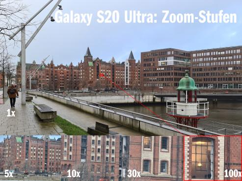 Galaxy S20 Zoom: Der Trick mit der Vergrößerung©COMPUTER BILD