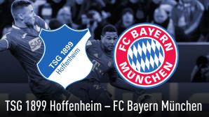 Bundesliga: Hoffenheim - Bayern©, FC Bayern München, TSG 1899 Hoffenheim
