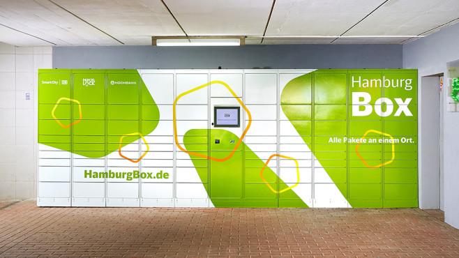 Hamburg Box Smart Locker©Deutsche Bahn, ParcelLock