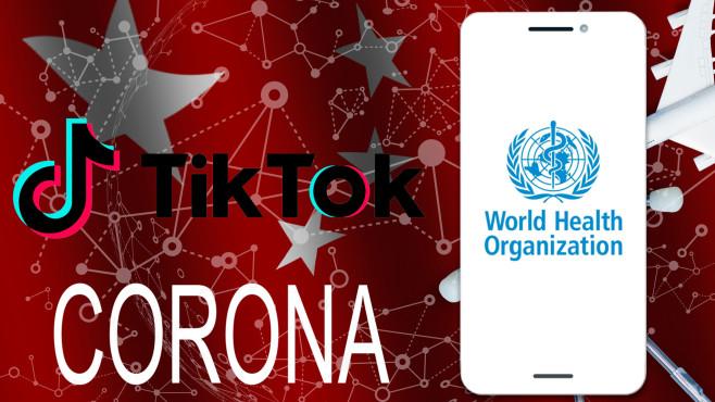 TikTok: Die WHO warnt vor Verschwörungstheorien©TikTok, iStock.com/Sinenkiy