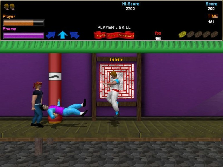 Screenshot 1 - Kung Fu Master 3D