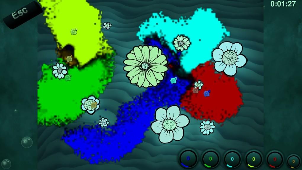 Screenshot 1 - Liquid War