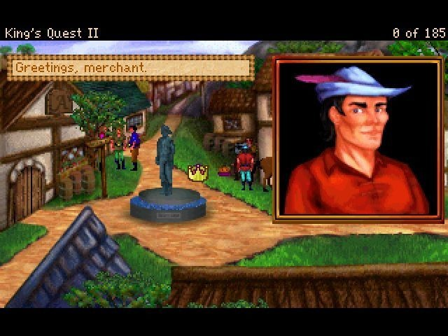 Screenshot 1 - King's Quest 2 – Romancing the Stones