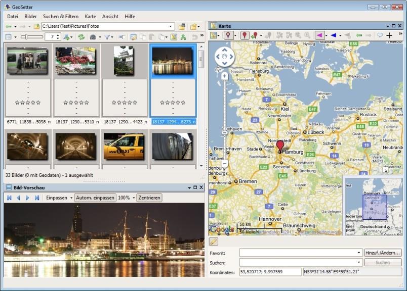 Screenshot 1 - GeoSetter