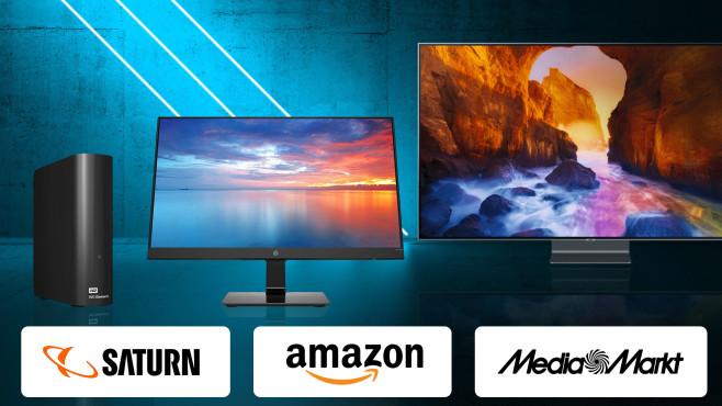 Amazon, Media Markt, Saturn: Die Top-Deals des Tages!©Media Markt, Saturn, Amazon, Western Digital, HP, Samsung, iStock.com/eugenesergeev