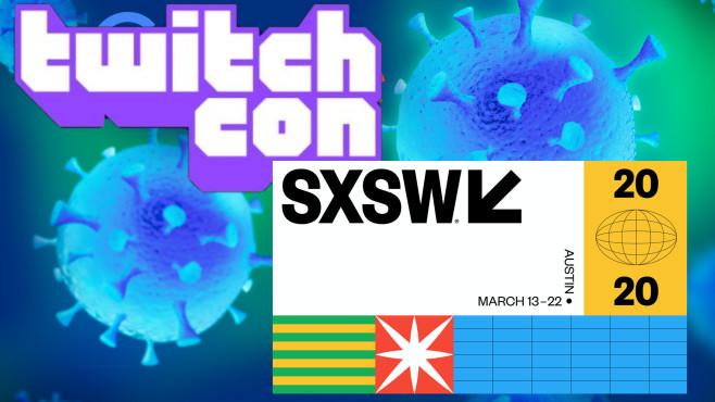 SXSW und TwitchCon in Amsterdam abgesagt©SXSW, Twitch, iStock.com/narvikk