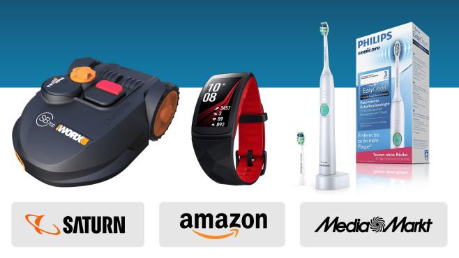 Amazon, Media Markt, Saturn: Die Top-Deals des Tages!©Amazon, Saturn, Media Markt, Philips, Worx, Samsung