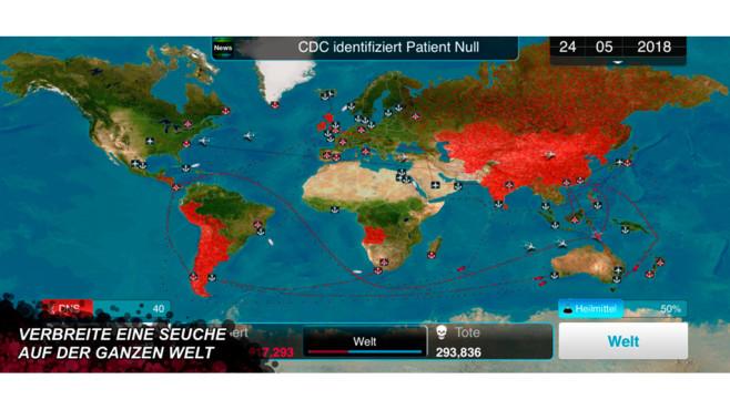 Plague Inc.: Pandemie-Simulation erobert die Charts©Ndemic Creations