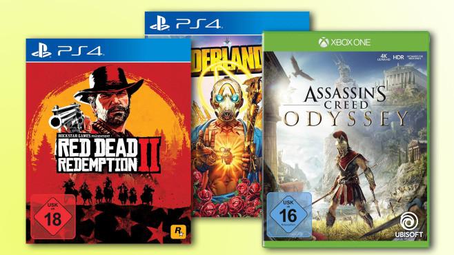 Amazon-Sale©Rockstar Games, Ubisoft, 2K Games