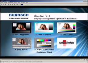 Fernseh-Testbilder – Audio Video Equipment Check