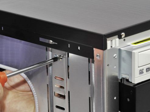 So bauen Sie Festplatten und Laufwerke ein Laufwerke einbauen ©COMPUTER BILD