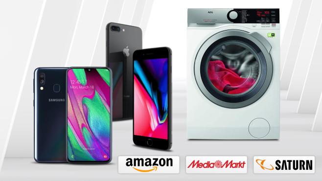 Amazon, Media Markt, Saturn: Die Top-Deals des Tages!©Amazon, Saturn, Media Markt, AEG, Samsung, Apple, iStock.com/akinbostanci
