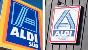 Aldi Süd und Aldi Nord©iStock.com/fotografixx, iStock.com/kontrast-fotodesign