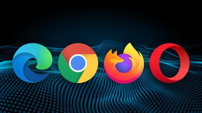 Rendering-Engines: Gecko, Chromium, EdgeHTML, Presto - die wichtigsten Infos©Firefox, Google Chrome, Opera, Edge , iStock.com/Alibray