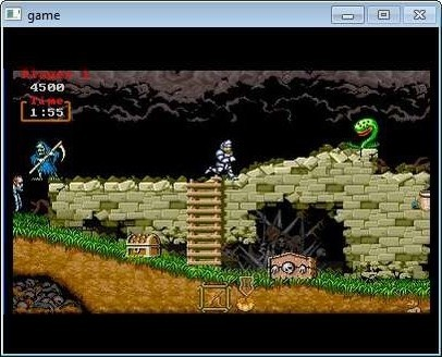 Screenshot 1 - Ghouls and ghosts Remix