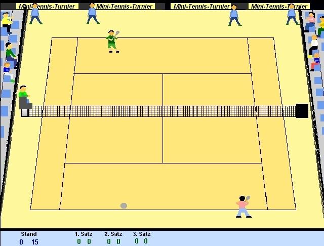 Screenshot 1 - Mini-Tennis-Turnier