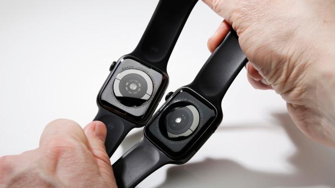 W34 und Apple Watch Series 5©COMPUTER BILD