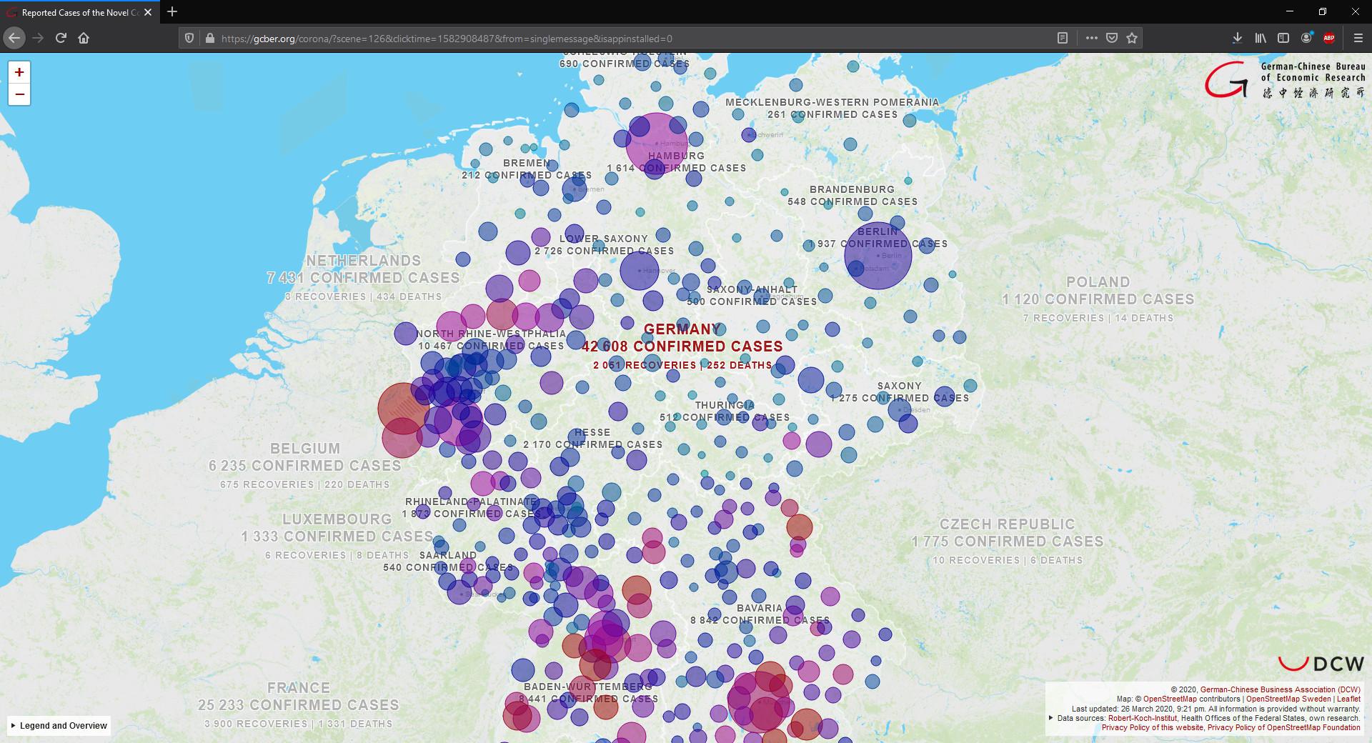 Coronavirus Deutschland Karte Nach Stadten Und Kreisen Download Computer Bild