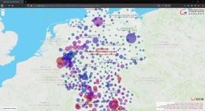 Coronavirus-Deutschland-Karte nach Städten und Kreisen