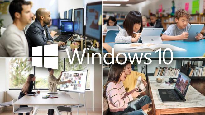 Windows 10 erreicht die Milliarde Meilenstein erreicht: Microsoft gibt neue Nutzerzahlen für Windows 10 bekannt.©Microsoft