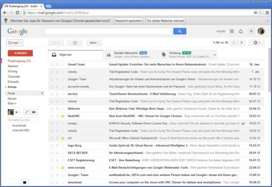 Gmail©Google