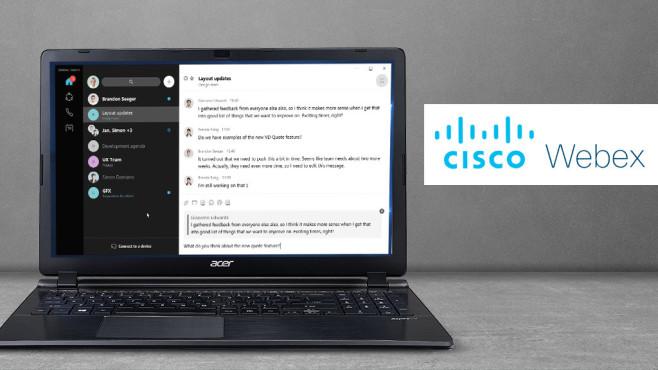 Cisco Webex©iStock.com/Rocco-Herrmann