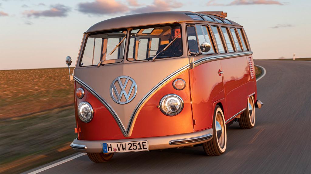e-Bulli: Der VW T1 kommt als Elektroauto zurück