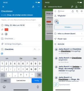 Trello (App für iPhone und iPad)