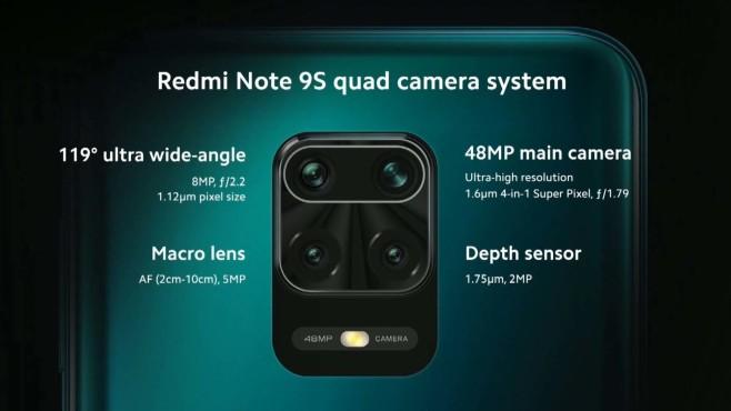 Xiaomi Redmi Note 9S: Die Kamera©Xiaomi