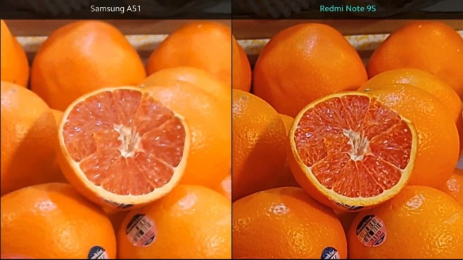 Xiaomi Redmi Note 9S: Kamera-Vergleich mit Samsung A51©Xiaomi