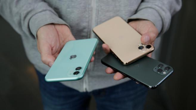 Apple iPhone 11 Pro und Co.©COMPUTER BILD