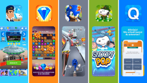 Gratis-Spiele-Apps im Test: Gegen Corona-Langeweile©COMPUTER BILD, EA, Sega, Jamcity, Kalypso, Mags Interactive