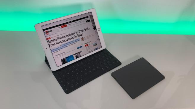 iPad Pro mit Trackpad©COMPUTER BILD