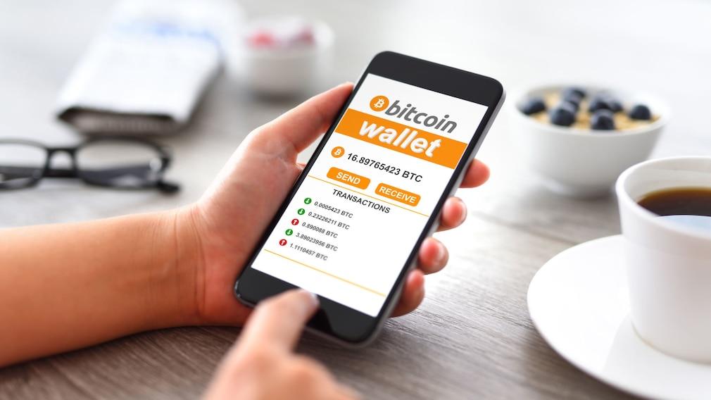 Bitcoin kaufen App©iStock.com/hocus-focus